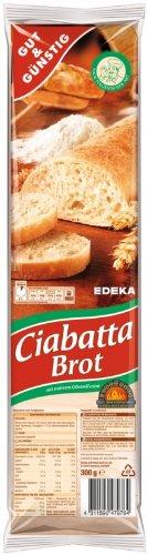 Gut & Günstig Ciabatta Brot, 1 x 300 g
