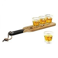 Idea Regalo - Bicchierini da liquore con vassoio