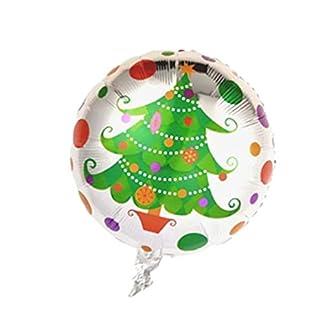 Balón Globo Hinchable Navidad BUON Navidad Decoración Día Cenone