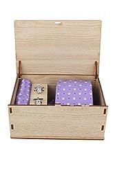 Ellis Men Tie, Cufflink And Pocket Square Gift Set