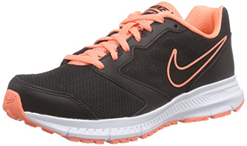 Nike, Damen Downshifter 6 Laufschuhe, Schwarz (Black/Black-Atomic Pink-White), 38