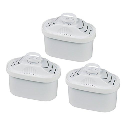 Europart 10033651 3 Stück Wasserfilter Tischwasserfilter Filterkartusche Filtrino Tassimo...