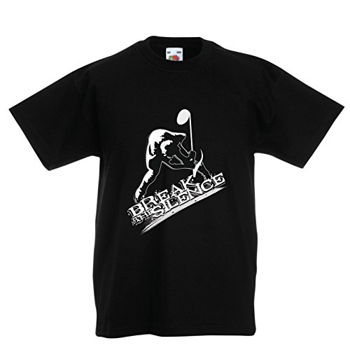 Kids Boys/Girls T-Shirt Break The Silence - Rock and Roll - Heavy Metal - Vintage Music Band Concert Merch