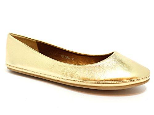 Envy London - Ballet donna Oro (GOLD PATENT)