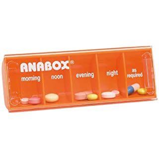 Anabox Daily Pillbox Orange