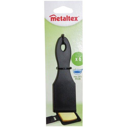 Metaltex 256012038 - Espátulas para raclette (6 unidades)