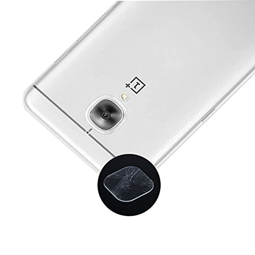 Camera Lens Protector Soft Tempered Glass Protective Film For Oneplus 3 / One Plus 3 / 1 + 3 By ACUTAS