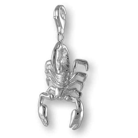 "MELINA Charms Pendentif ""Scorpion"" Argent 925"