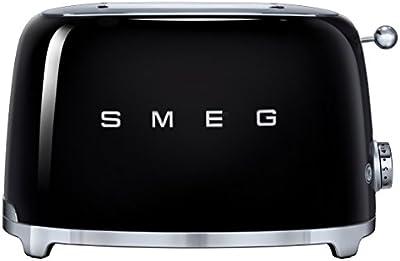 Smeg TSF01BLEU - Tostadora, 950 W, color negro