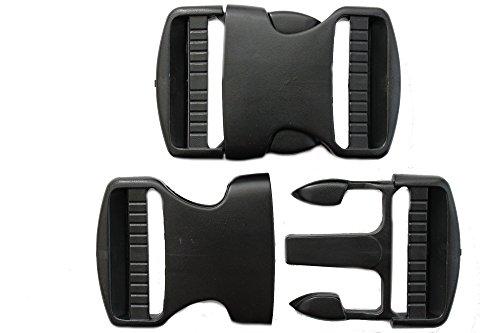 dalipo 20004 - Steckschnallen, 2 Stück, 40mm