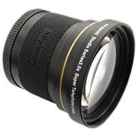 Polaroid Studio Series 3.5X Super Telephoto Lens Objectif super téléobjectif Noir - lentilles et filtres d'appareil photo (Objectif super téléobjectif, Noir, 5,8 cm, Boîte)