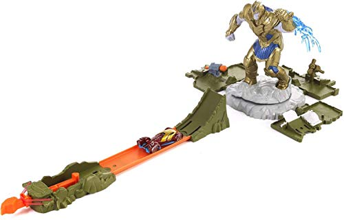 Hot Wheels Playset Batalla Vengadores contra Thanos (Mattel FLM81)