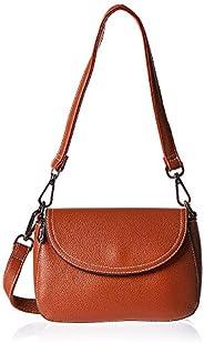 Inoui satchel bag for women-ASN2025B-Brown