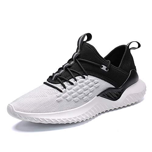 Veluckin Scarpe da Corsa su Strada Uomo Sneaker Sportive Scarpe Comode per Camminare Jogging