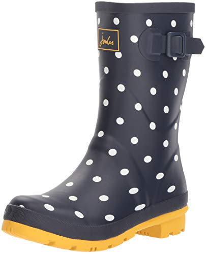 Tom Joule Damen Molly Welly Gummistiefel, Blau (French Navy Spot Fnavspt), 38 EU