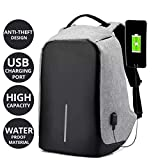 AllExtreme Anti theft Backpack Waterproof Business Laptop Bag with USB Charging Port