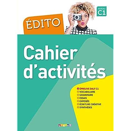 Edito C1 (éd. 2018) - Cahier