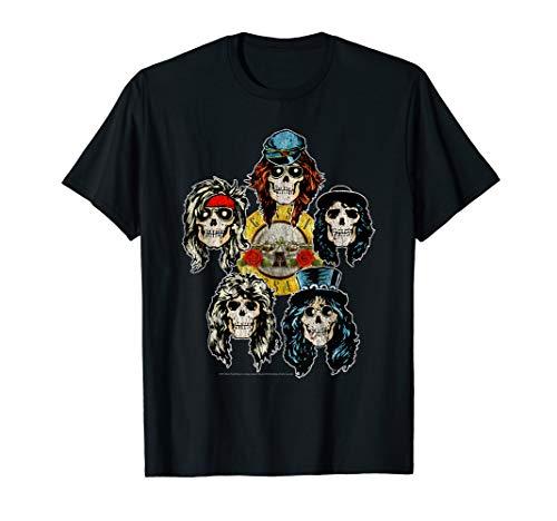 Guns N' Roses Skull Heads T-Shirt -
