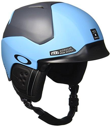 Oakley MOD5 Snowboard / Ski Negro, Azul casco de protección - cascos de protección (Snowboard, Esquiar, Negro, Azul, S/M/L, Mate, Hombre/Mujer, ASTM F2040, CE EN1077)