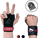 Aireez 2 in 1 Crossfit - Fitness Handschuhe & Handgelenk Bandagen Set für Damen & Herren...