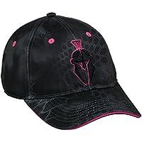 Pink Helm Logo Schwarz Camo Kappe für Damen Kryptek Performance Typhon