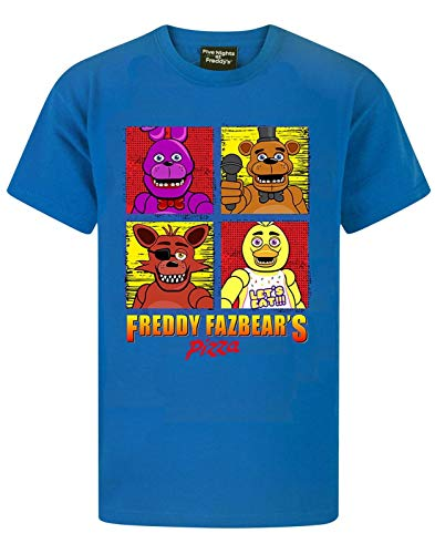Five Nights At Freddy's Panels Boy's T-Shirt (5-6 Years)