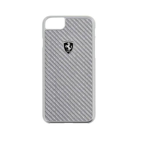 Ferrari FEHCAHCP7SI CG Mobile Handyhülle für Apple iPhone 8/7 Silber