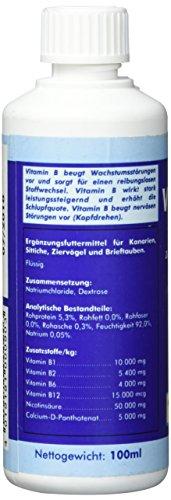 41GFuSWX1OL - Quiko Vitamina B-para kanarien, Loros, Carta Palomas y pájaros Ornamentales