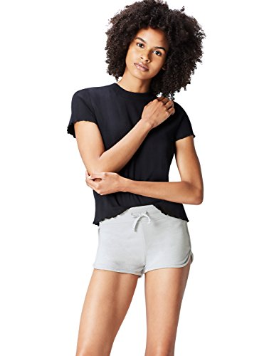 Activewear Shorts Damen, Grau (Light Grey), 40 (Herstellergröße: Large)