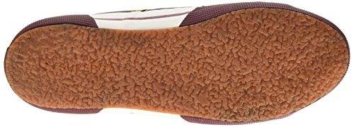 Superga Unisex-Erwachsene 2754-Plusnylu Sneaker Rot - Rouge (A77 Bordeaux)