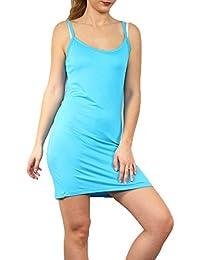 Amazon.fr   Turquoise - Combinaisons et jupons   Lingerie   Vêtements c501e1d53d37