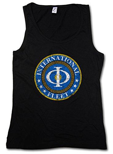 Vintage International Fleet Logo Woman Tank Top - Ender´s Orson Scott Card Game Woman Tank Top Sizes S – 5XL