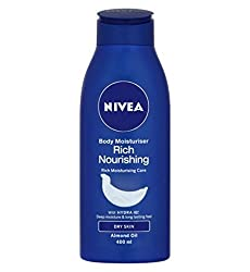Nivea Rich Nourishing Body Moisturizer 400 ml with Ayur Product in Combo
