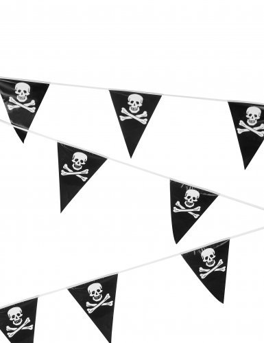 Boland Halloween 6 Meter Pirate/ Skull & Cross Bone Bunting Party Decoration Accessory (Piratas Halloween Disfraz)