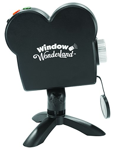 Window Wonderland das Projektor Video Revolutionäre-gesehen an Fernseher (Halloween Windows Display)