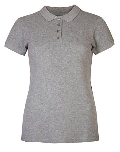 Brody & Co Damen Poloshirts, Pikee, Kurzarm, für Golf/Tennis/Fitness Gr. 38, grau - Polo Ralph Lauren Tennis