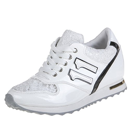 Damen Schuhe, Z057, FREIZEITSCHUHE Wei