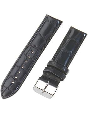 Daniel Wellington Unisex Zubehör Andere Bänder Uhrenband Leder Schwarz DW00200028