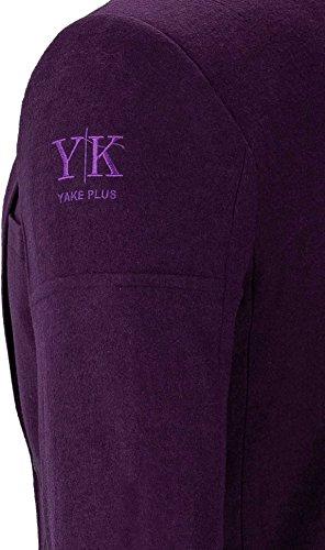 YAKE by S.O.H.O. NEW YORK Sakko Herren Slim Fit - Blazer Herren Sportlich Sheffield Dunkellila_003