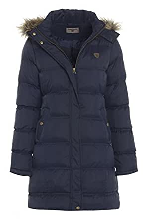 Padded Women's Coats Our selection of padded coats for women is perfect for keeping you warm in colder months. With ultra-lightweight feather and down finish and a showerproof outer – our padded women's coats will keep you warm, dry and comfortable in harsher conditions.
