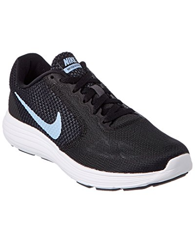 Nike Damen 819303 Sneakers Mehrfarbig (Black / Aluminum / Anthracite / White)