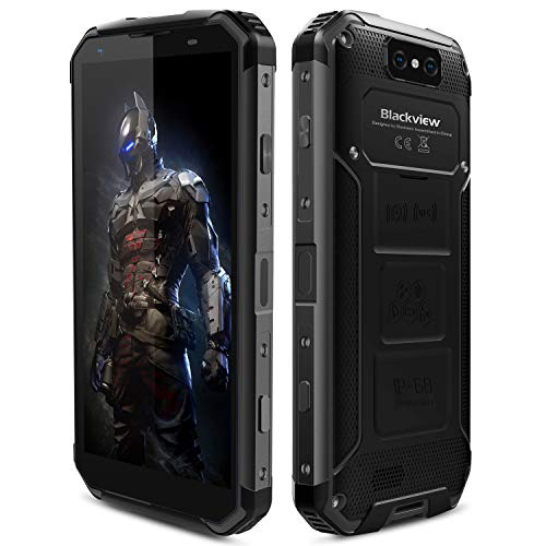Blackview BV9500 Smartphone 4G Impermeable IP68 a Prueba de Golpes Dual SIM 4GB RAM 64GB ROM 5.7' Pantalla Batería...