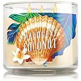 Sea Shell : Bath & Body Works Candle 3 Wick 14.5 Ounce 2016 Mahogany Coconut