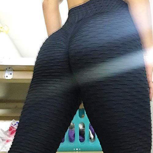 Domeilleur Women's Anti-Cellulite Compression Leggings Slim Fit Butt Lift Elasticated Trousers