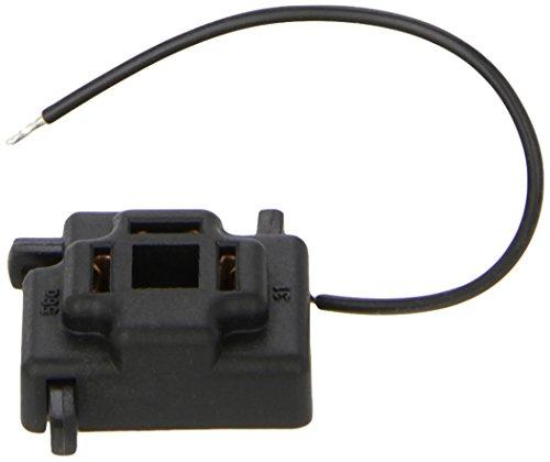 HELLA Stecker für Scheinwerfer, Kabelanschluß durch Drucktasten für Leitungsquerschnitt 2,5 mm² . 3-polig, mit Massekabel 130 mm