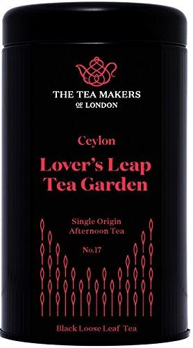 The Tea Makers of London Ceylon Lover's Leap Estate Black Loose Leaf Tea 125 g Caddy Single Origin