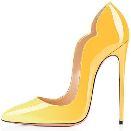 Chaussures Multicolore Stiletto Aiguille Jaune Escarpins Ubeauty CX0w6X