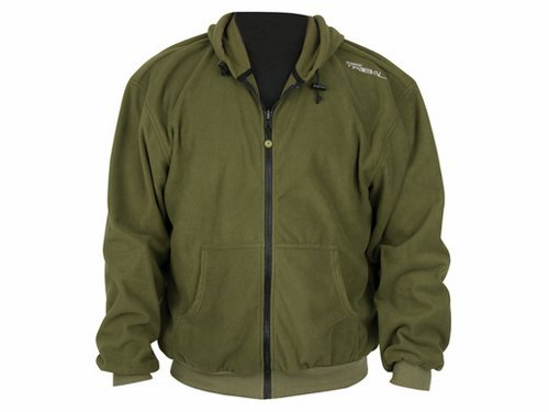 Shimano Tribal Fleece Jacke Gr. XXL Hardwood Green