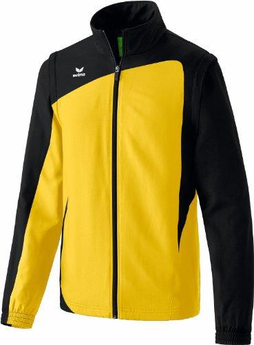 erima Herren Jacke Club 1900 mit Abnehmbaren Ärmeln gelb/schwarz