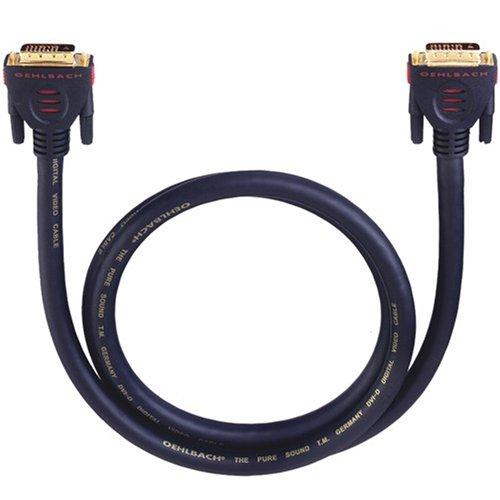 Oehlbach DVI-D 300  DVI-D-KABEL  schwarz  3.00 m Ge-dvi-adapter